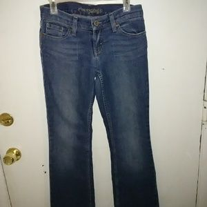American Eagle Outfitters hipster jeans.